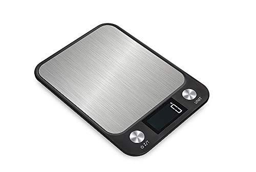 YAJAN-KitchenScale Digitale Küchenwaage elektronische elektrische Küche Werkzeug LCD-Monitor Multifunktions-elektrische hochpr?zise Lebensmittelmessung Küche Haushalt Wohnen Wiederaufladbar