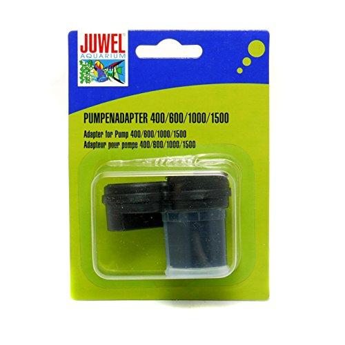 JUWEL Pumpenadapter für Aquariumpumpen 400/600/1000/1500 (Einheitsgröße) (Schwarz)