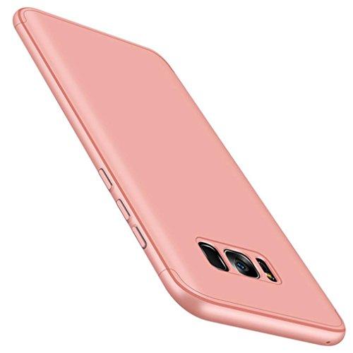 Preisvergleich Produktbild Omiky® Luxuxdünne Elektrodenplatte harte Fall-Abdeckung für Samsung-Galaxie S8 Plus (Rosa)