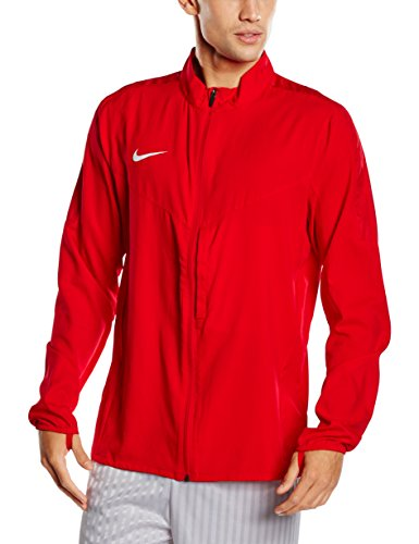 Nike Team Performance Shield - Giacca, Multicolore (Rosso University/Bianco), M