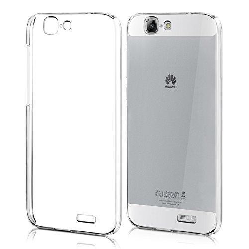 kwmobile Crystal Hülle für Huawei Ascend G7 Hard Case - dünne durchsichtige transparente Schutzhülle Cover klar in Transparent