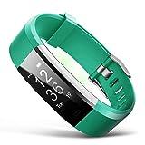 Simanli Premium Fitness socken Fitness Tracker, Fitness socken Aktivitätstracker mit 14 Trainingsmodi, Aktivitätstracker, Alarme, Kameraaufnahme (Grün)