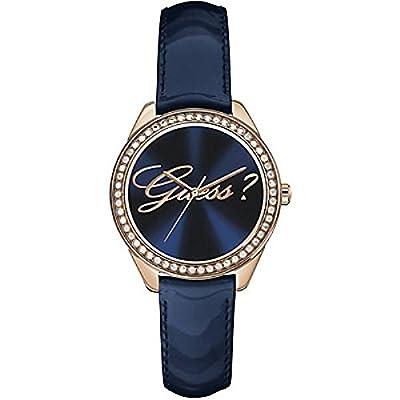 Guess W0619L2 - Reloj de pulsera para mujer, color blanco / plata