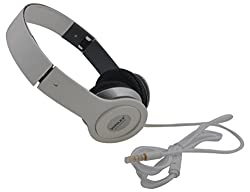 Sonilex SLG-1014HP Over-Ear Wired Headphone (White)
