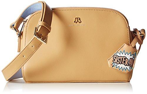 Paul & Joe Messenger Bag, Borsa a tracolla donna Beige Beige (Camel 75 75) 24x17x9 cm (B x H x T)