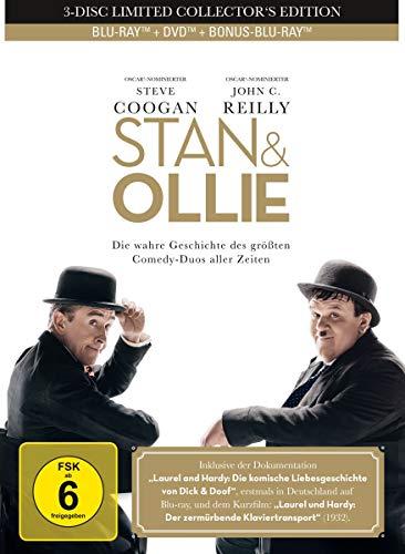 Stan & Ollie - 3-Disc Limited Collector's Mediabook  (+ DVD) (+ Bonus-Blu-ray)
