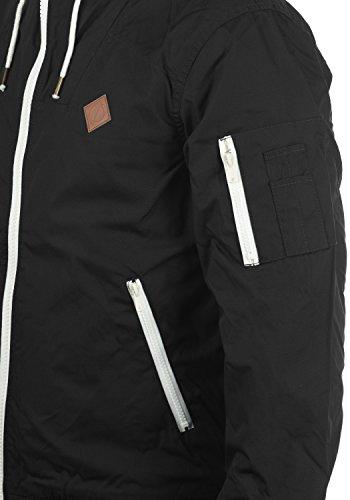 SOLID Tilly Herren Übergangsjacke Jacke mit Kapuze aus robustem und hochwertigen Material Black (9000)