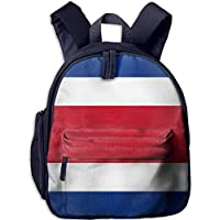 Funny Schoolbag Backpack Flag of Costa Rica Kid and Toddler Student Backpack School Bag Super Bookbag