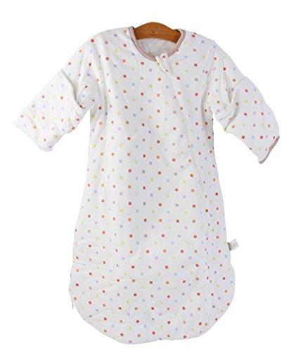 Aktive Wrap Fuß (MTTLS Baby sleeping bags Baumwolle Baby Schlafsack Soft Cosy Anti Kick warme Füße Bettwäsche wickeln Wrap geeignet für Neugeborene 120CM , A , 80cm)