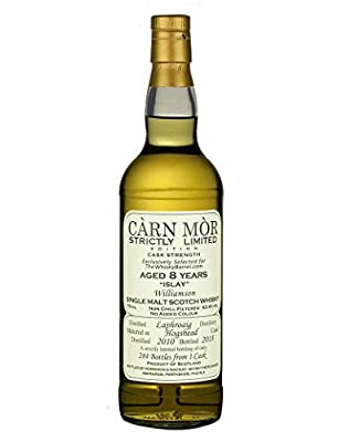 Laphroaig 8 Year Old 2010 Strictly Limited Exclusive