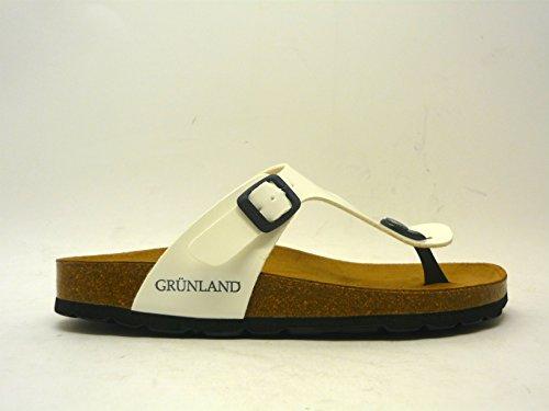 Grunland INFRADITO DONNA MODELLO SARA BIANCO COD CB0025 TAGLIA 37