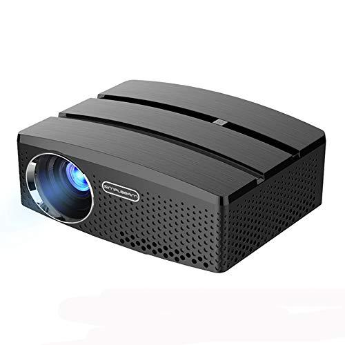 Link Co Mini-Projektor Android 6.0 Videoprojektion Voll HD1080P Unterstützte drahtlose Projektion Eingebauter WiFi Gleicher Bildschirm Bluetooth 4.0-Gerät