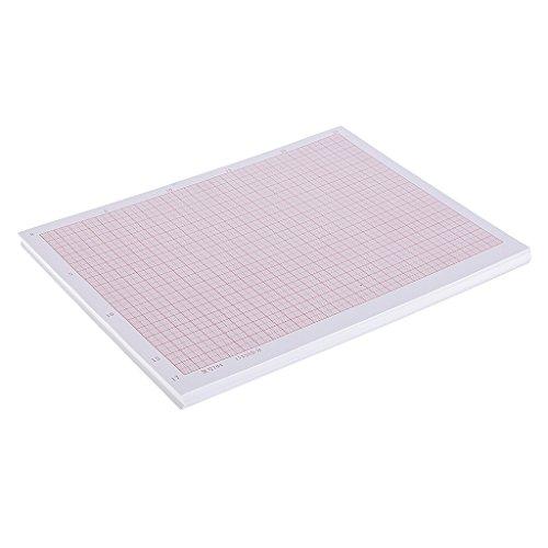 Mm Block (Homyl 100 Blätter Millimeterpapier Zeichenblock technisches Zeichnen Papier - A4)