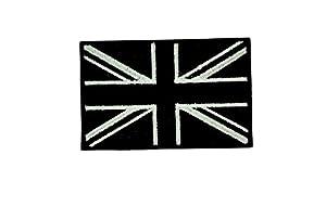 Patch ecusson brodé drapeau backpack Uk anglais royaume uni camo airsoft