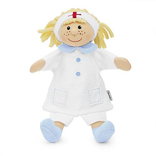 Sterntaler Handpuppe Krankenschwester, 28 x 24 x 10 cm, Weiß