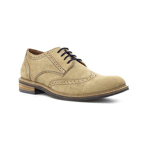 Lotus Mens Beige Leather Lace Up Brogue Shoe - Size 12 UK...