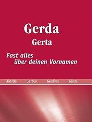 Gerda: fast alles über deinen Vornamen