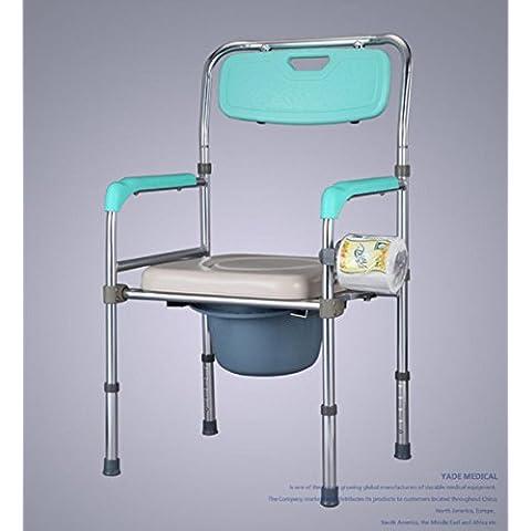 New day-Vecchio Generico presiede toilette in alluminio nelle donne in