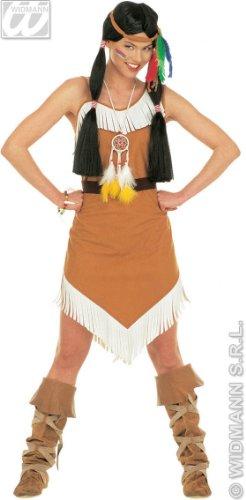 Widmann 43382 - Erwachsenenkostüm Comanche für Damen, Größe M (Apache Indian Kostüme)