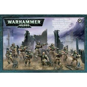 Games Workshop 99120105039 - Warhammer 40.000 - estatuilla - Tropas de Cadia Asalto