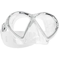 SCUBAPRO Masque de plongée Vibe 2, Bianco