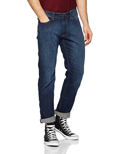 Hattric Herren Straight Jeans Dark Indigo