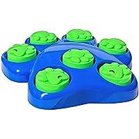 Invero® 8 Piezas Divertido Perro Interactivo Puzzle Juego de Actividades de Entrenamiento – Sniff &