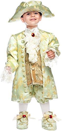 Carnevale Venizano CAV50718-3 - Kleinkindkostüm CASANOVA NEONATO - Alter: 0-3 Jahre - Größe: (Casanova Carnevale Kostüm)
