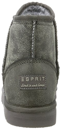 ESPRIT Damen Uma Vintage Schlupfstiefel Grau (Grey)