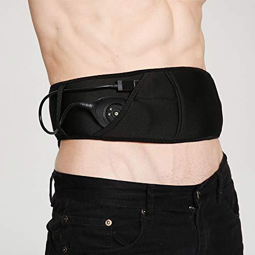 Llyy® cinture massaggianti, cintura dimagrante elettrica elettrostimolatore, for addome/braccio/gambe/waist/glutei massaggi uomo/donna potenziamento muscolare, usb ricaricabile