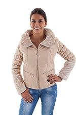 Damen Steppjacke Jacke mit großem Kragen Winter Jacke 33021