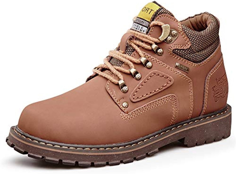 Yajie-stivali, Casual Stivaletti Classici da Uomo Round Top High Top Cotton Warm Outsole Work scarpe (Convenzionale... | Diversified Nella Confezione  | Uomini/Donne Scarpa