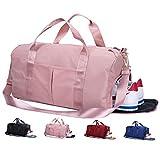 Lantch Männer Sporttasche Reisetasche Frauen Weekender Handgepäck Tasche mit Schuhfach(pk)