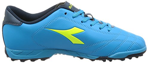 Diadora 6play TF Jr, Jungen Fußballschuhe, Blau - Blau - Größe: 37 EU