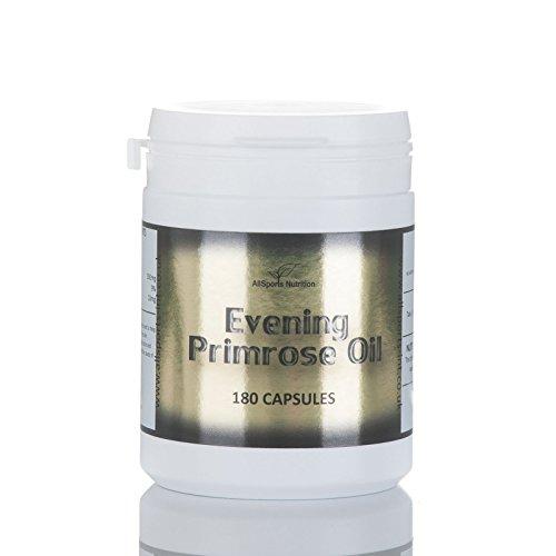 EVENING PRIMROSE OIL - 180 capsules by Allsports
