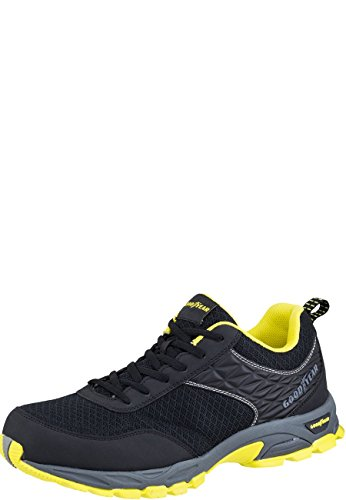 Goodyear GYSHU1532 Sporty  Metal Free Safety Work Shoe, Black, UK 13/EU 47