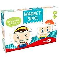 """Noris Spiele 606041623 - """"Magnetspiel - Zeig mir deine Emotionen"""" Kinderspiel"""