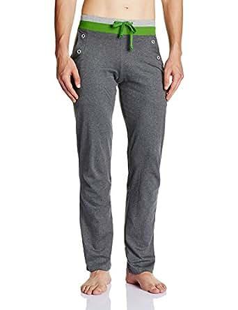 Chromozome Men's Cotton Track Pant (S6360_charcoal_S)