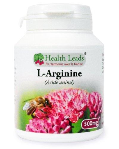 L-Arginine 500mg x 90 gélules