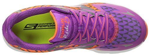 Skechers Go Run Ride 5, Multisport extérieure femme Purple/Orange
