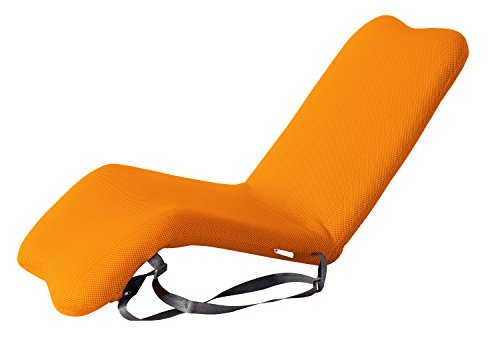BonVIVO® EASY I Padded Garden-Floor Chair with Adjustable Back and