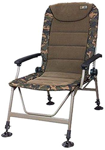 Fox R3 Camo Chair Angelstuhl, Anglerstuhl, Karpfenstuhl, Campingstuhl, Stuhl zum Angeln für Angler -
