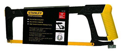 Stanley 15166 STLFRM 450mm 17 3/4 and BLD-305mm-12 Hacksaw