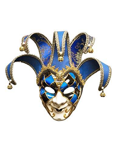 Katze Kostüm Griechische - Zhhlaixing Masquerade Ball Mask Venezianische Jolly Couple Maske Mens Vintage griechischen Römischen Karneval Party Maske Kostümzubehör für Geburtstagsmodenschauen Halloween Weihnachten Karneval