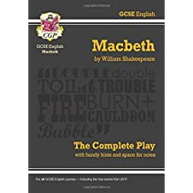 "Grade 9-1 GCSE English Macbeth - The Complete Play (CGP GCSE English 9-1 Revision): ""Macbeth"" - The Complete Play Pt. 1 & 2"