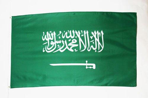 DRAPEAU ARABIE SAOUDITE 90x60cm - DRAPEAU SAOUDIEN 60 x 90 cm - DRAPEAUX - AZ FLAG