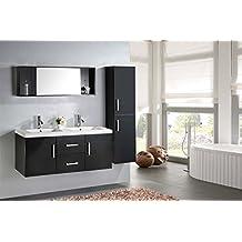 Amazon meuble salle bain double vasque design