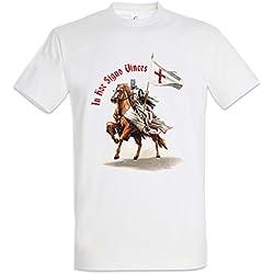 Urban Backwoods Templar IV T-Shirt – Caballeros templarios del temploCross Knight Ordo Orden Crusade Crusader Tamaños S – 5XL