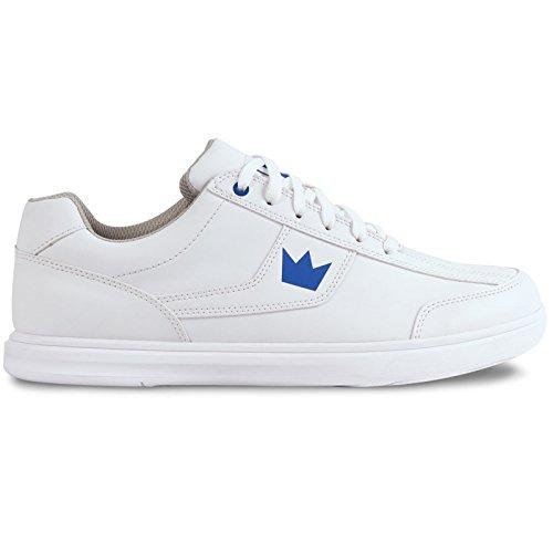 Brunswick Edge Chaussures de bowling pour homme blanc