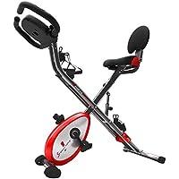 Bicicleta X150 de Sportstech • Bicicleta doméstica 4 en 1 con aplicación para smartphone y sistema patentado de retracción • Sensores manuales de pulso • Ergómetro • Bicicleta doméstica • Bicicleta de fitness • Bicicleta plegable